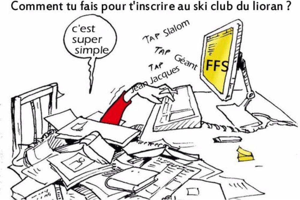 Dossier réinscription au ski club Lioran