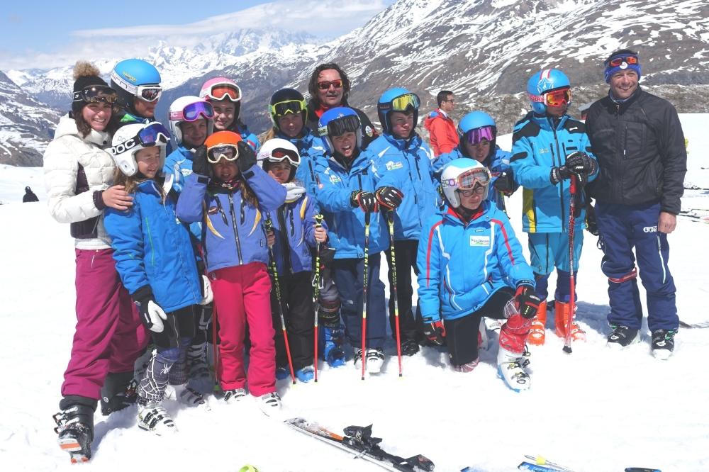 Bilan du déplacement course sur Val d'Isère