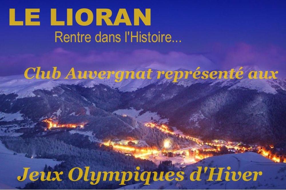 Le Lioran rentre dans l'Histoire des JO