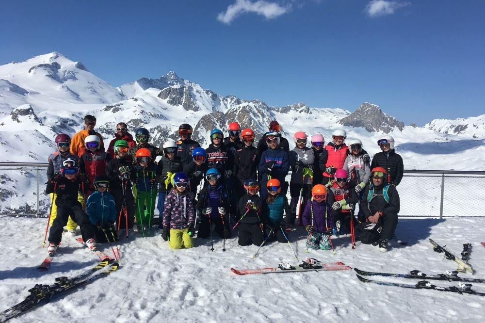 Val d'Isère couleur Lioran au sommet.