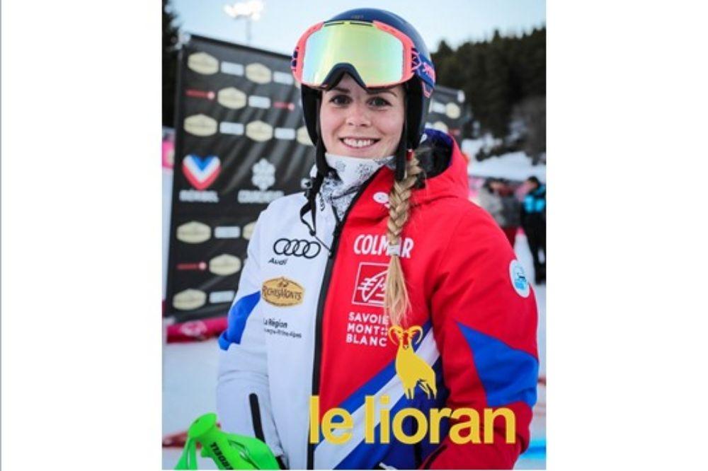 Ninon au Slalom WC de SPINDLERUV .