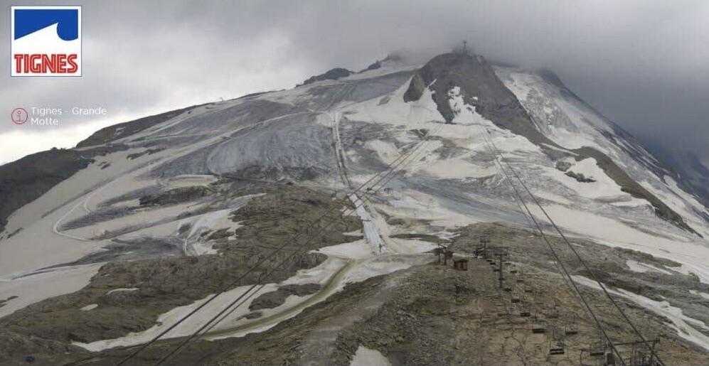 Le ski sur Glacier nous est compté