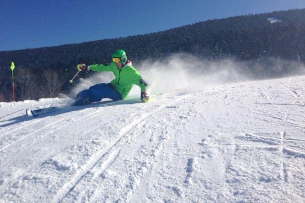 Reprise du ski pour Hugo