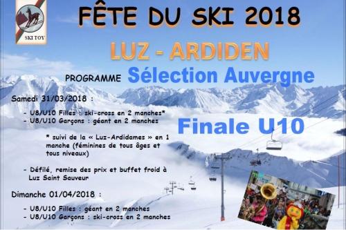 les U10 du Lioran retenus en sélection Auvergne