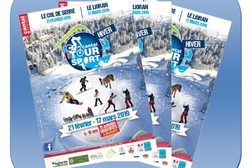 Le club sur l'Hiver Cantal Tour Sport