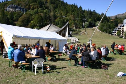 Journée de rassemblement du ski club.